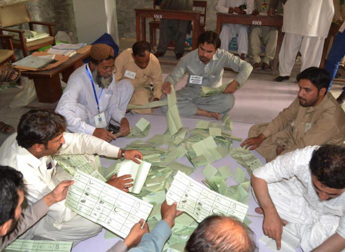 Pakistan, spoglio dei voti a Quetta