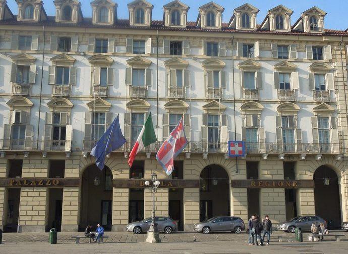 Il Palazzo della Regione a Torino