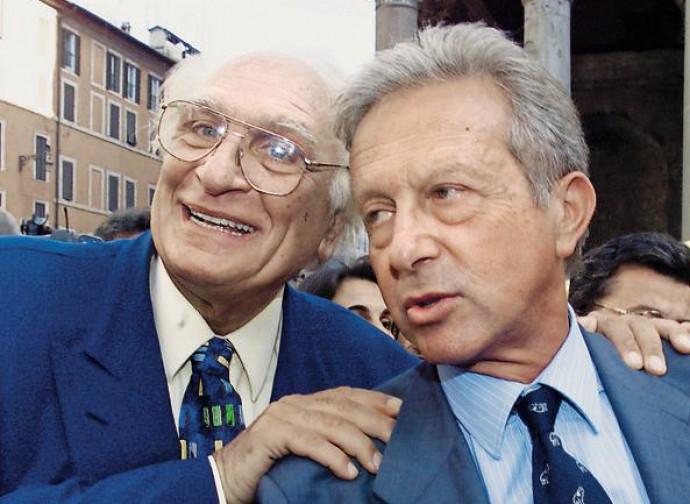 Pannella e Segni, i promotori del referendum del 1993