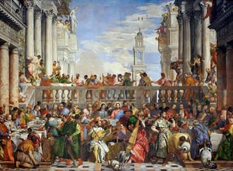 Le Nozze di Cana secondo il Veronese, prodigio di bellezza