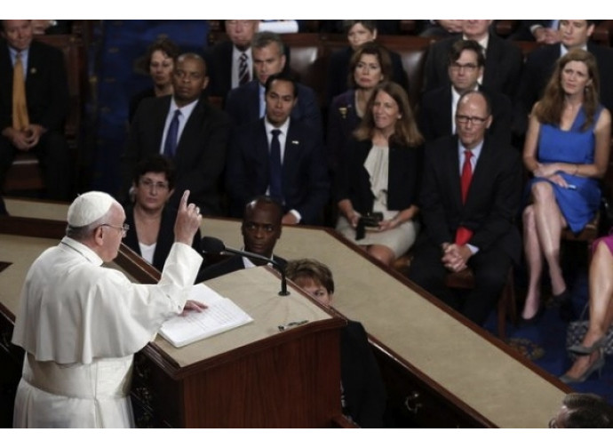 Papa Francesco al Congresso americano