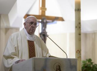 Quando il Papa fa il picconatore