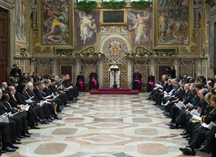 Papa Francesco, discorso al corpo diplomatico