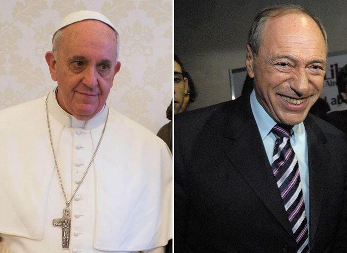 Papa Francesco e Raul Zaffaroni