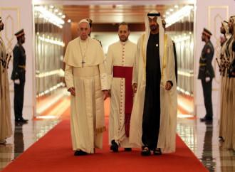 Francesco ad Abu Dhabi per incontrare il Grande Imam