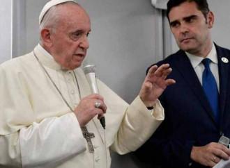 Papa, un linguaggio contraddittorio ma calcolato