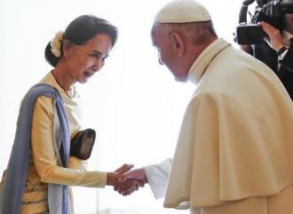 «Sono venuto a pregare con i cattolici»