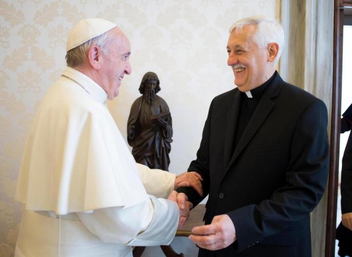 Papa Francesco e mons. Sosa