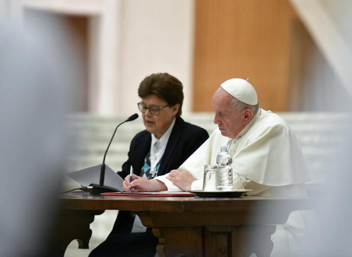 Papa Francesco, udienza con le rappresentanti della Uisg