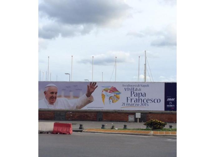 Preparativi per l'arrivo del Papa