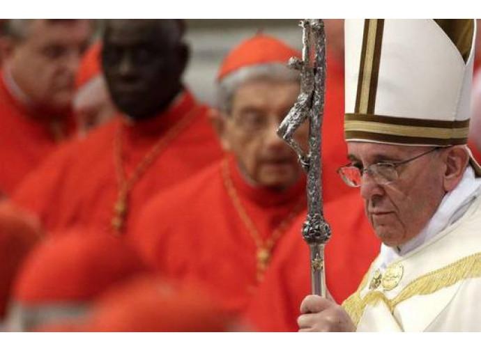 Papa Francesco e i nuovi cardinali