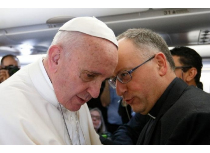 Papa Francesco e padre Spadaro