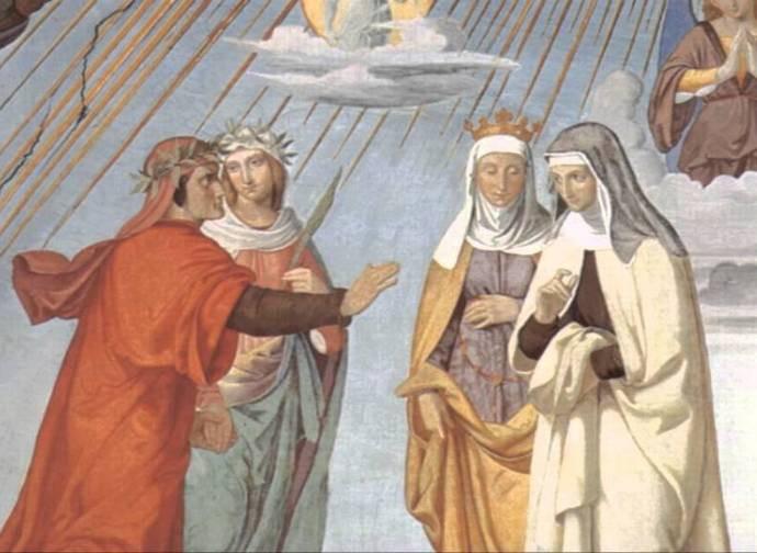 Dante incontra Piccarda Donati (Paradiso canto Terzo)