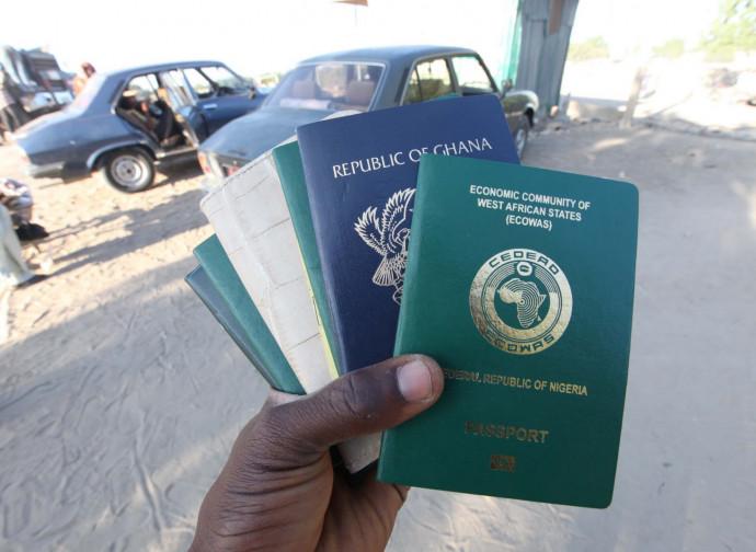 Passaporti dell'ECOWAS