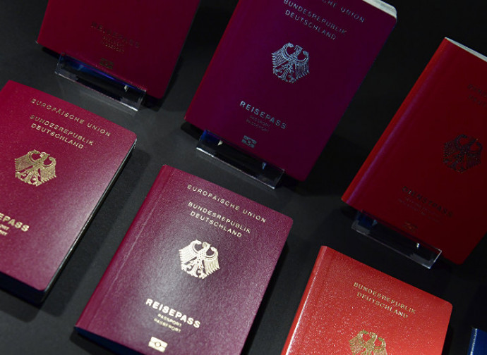Passaporti tedeschi, merce preziosa