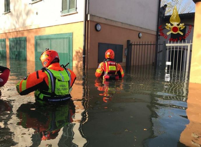 Esondazione del Ticino a Pavia
