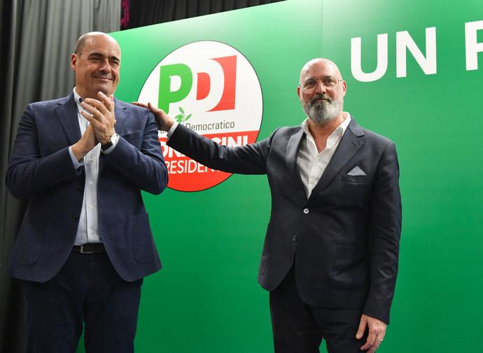Zingaretti e Bonaccini chiudono la campagna elettorale