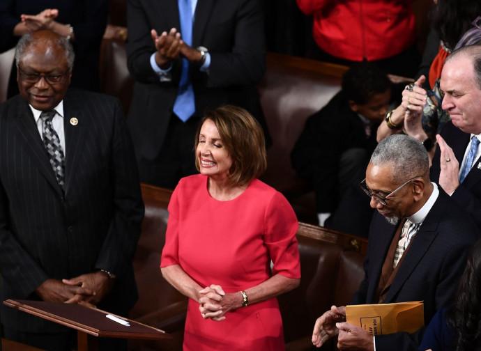 Nancy Pelosi inaugura il Congresso