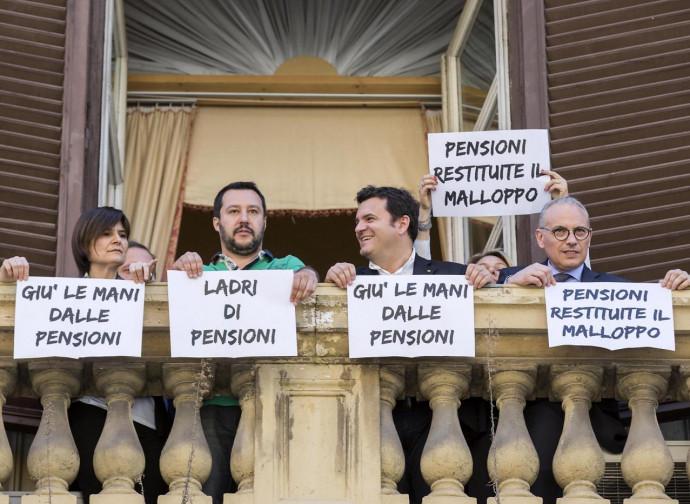 Salvini (quando era all'opposizione)