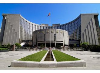 Cina, una piccola rivoluzione monetaria