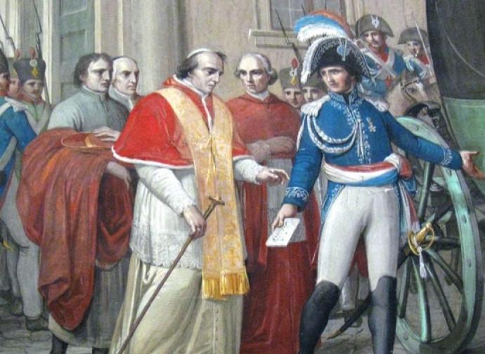L'arresto di Pio VII