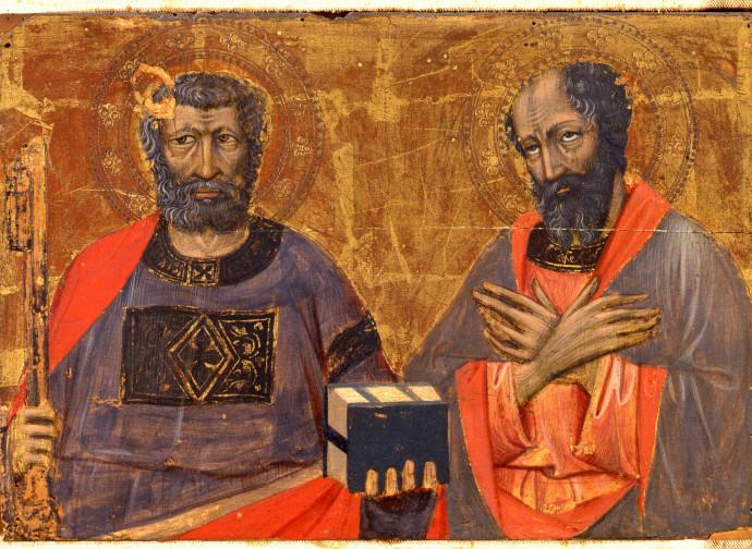 Jacopo di Paolo: Santi Pietro e Paolo