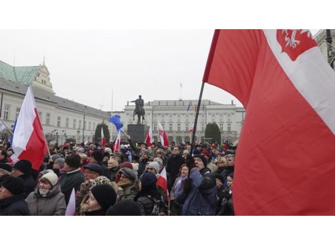 Polonia, la protesta