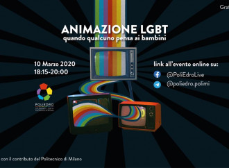 Politecnico di Milano pro cartoon gay