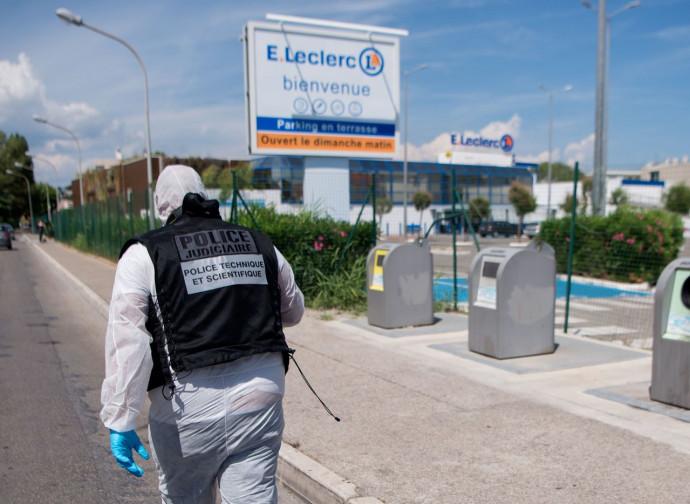 Seyne sur Mer, polizia sul luogo dell'accoltellamento