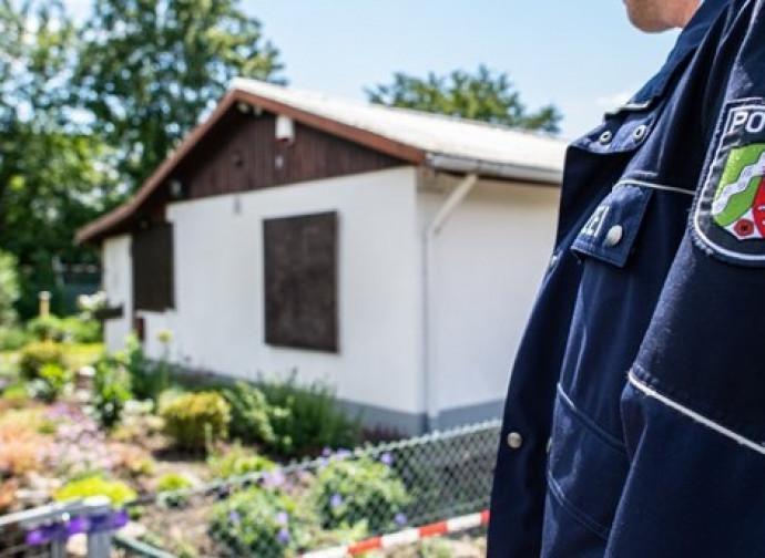 Munster, polizia sul luogo del crimine