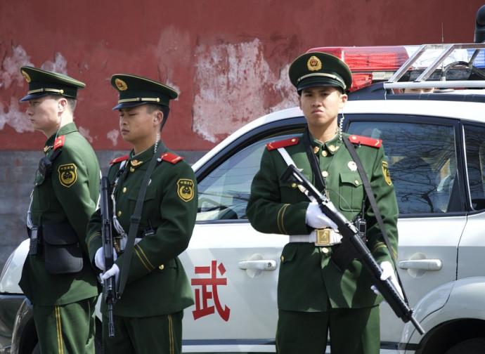 Cina, Stato di polizia