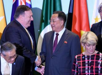 A Singapore fra Usa e Nord Corea son freddi sorrisi