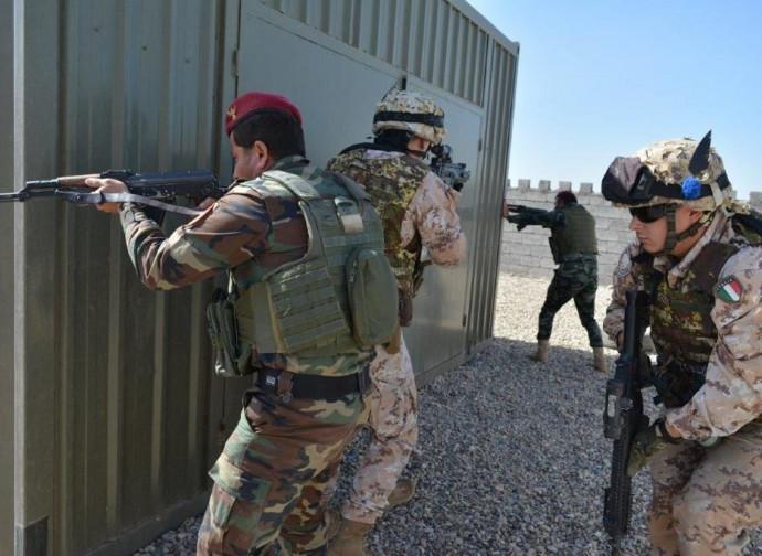 Italiani in Iraq, per addestrare i locali