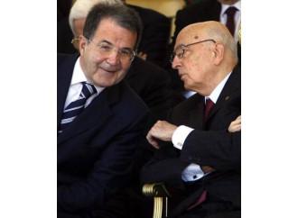 Un Napolitano deludente passa la palla a Prodi