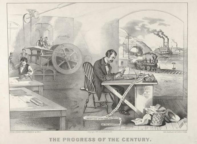 Il progresso (visto dall'Ottocento)