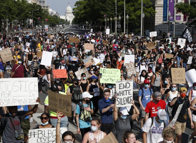 La protesta negli Usa