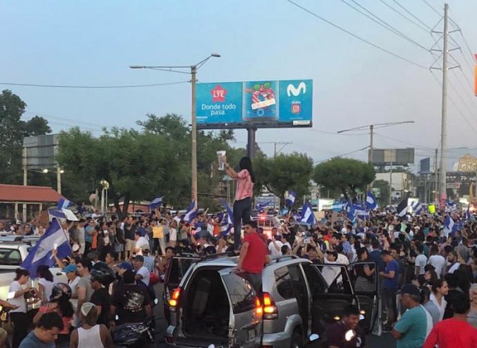 Proteste a Managua, Nicaragua