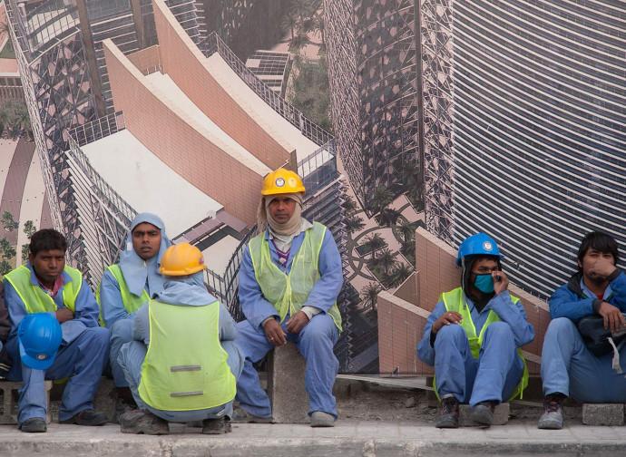 Lavoratori stranieri a Doha