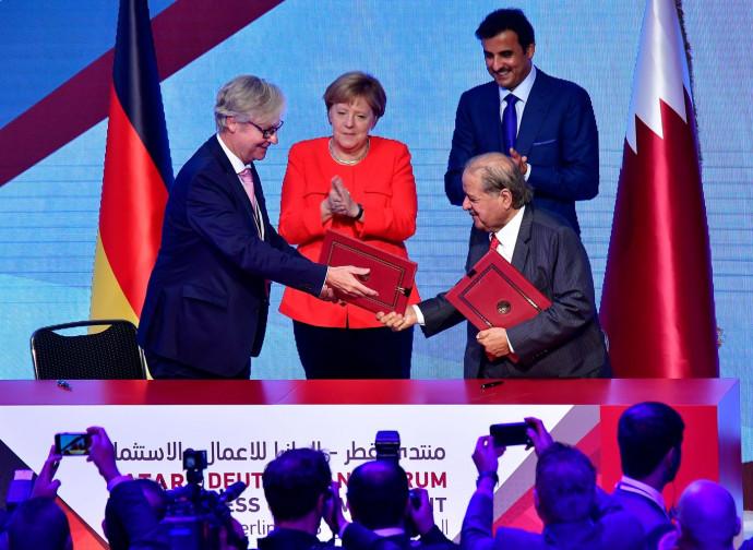 Gli accordi tedesco-qatarini