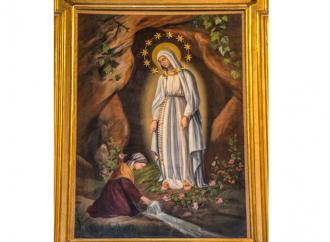 Roma e la Madonna di Lourdes, storia di un quadro conteso
