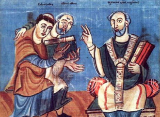 San Rabano Mauro e il Veni Creator Spiritus