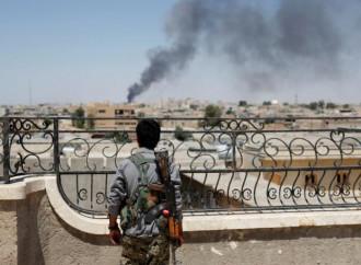 Miliziano curdo a Raqqa