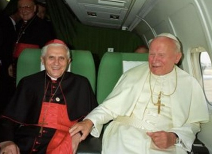 Ratzinger e Giovanni Paolo II