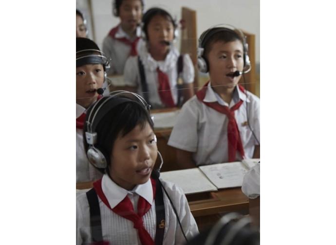 Bambini in Corea del Nord