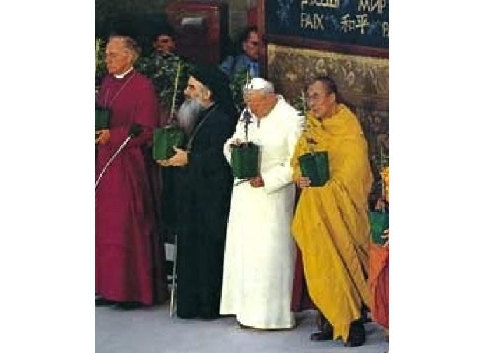 La Giornata mondiale di preghiera ad Assisi del 1986