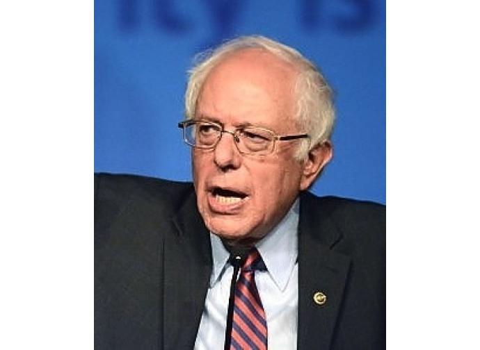 Il candidato alla presidenza Usa, Bernie Sanders