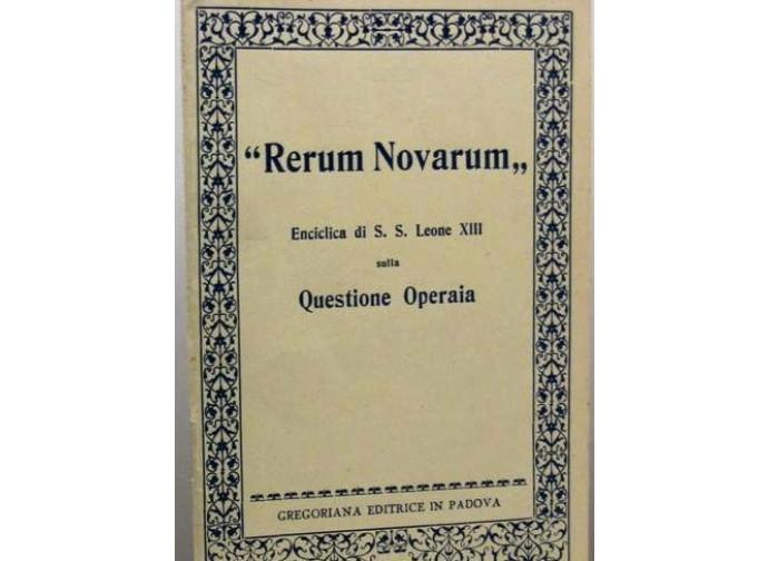 L'enciclica Rerum novarum di Leone XII