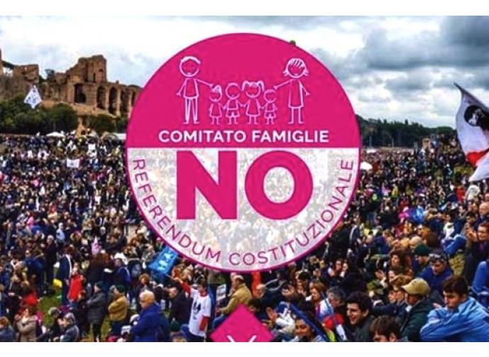 Manifestazione del Comitato famiglie