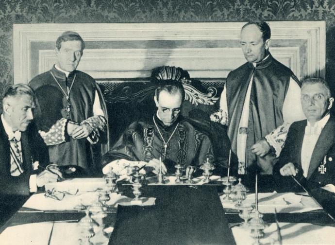 Il concordato Chiesa-Germania nazista nel 1933