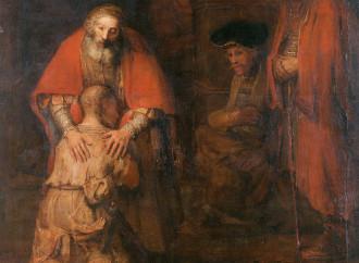 Rembrandt, le mani del Padre racchiudono il mistero